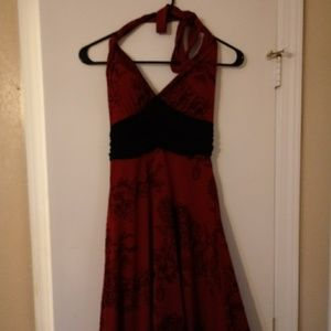 Vintage(ish) Halter Dress.
